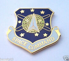 SPACE COMMAND  Military Veteran US AIR FORCE Hat Pin 15731 HO
