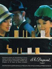 PUBLICITE ADVERTISING   1961   DUPONT   briquets