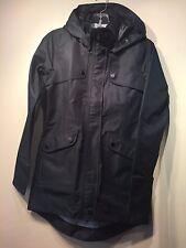 NWOT Athleta Overcast Coat Jacket, Black SIZE XXS   #138787