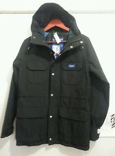 "PENFIELD MENS ""KASSON"" BLACK 1975 HOODED MOUNTAIN PARKA SIZE: XS"