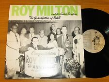 "SWEDEN IMPORT REISSUE BLUES LP - ROY MILTON - JUKEBOX LIL 600 ""THE GRANDFATHER"""