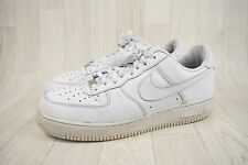 Mens 2009 Nike AF1 White Leather Trainers Size UK 10