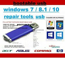 COMPUTER REPAIR USB   DIAGNOSE PC LAPTOP WINDOWS 7,8, VISTA XP