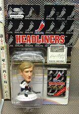 WAYNE GRETZKY Headliners plastic toy figure NWT hockey 1996