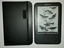 Amazon Kindle Keyboard 3rd generazione 4gb, Wi-Fi + 3g Custodia in bundle Amazon