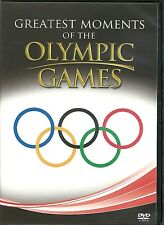 GREATEST MOMENTS OF THE OLYMPIC GAMES DVD - SUPREME ACHIEVEMENTS & MORE