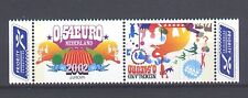 NETHERLANDS, EUROPA CEPT 2002, CIRCUS THEME, MNH