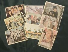 1967 MONKEES DONRUSS SERIES A . 9 cards - EXCELLENT CONDITION
