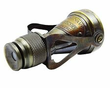 "Brass Pocket Monocular Binocular ""Made For Royal Navy London"" SPYGLASS"