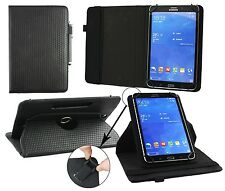 """Universal 360 Degree Rotating Wallet Case Cover fits 9 - 10"""" Tablet & Stylus"""