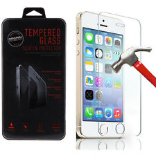 Ultra Slim Premium Tempered Glass Screen Protector Film for Apple iPhone 5/5S/5C