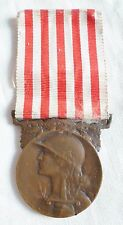 Médaille COMMEMORATIVE GRANCE GUERRE 1914/1918 ORIGINAL bronz FRENCH MEDAL ORDER