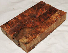 4 Amboyna Burl Pen Blanks Lathe Woodturning Lumber Reel Seats Women's Jewelery
