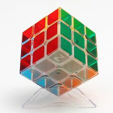 Z 3x3x3 Smooth Magic Cube Twisty Puzzle Intelligence Toys Gift Transparent Cubo
