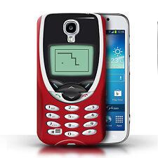 Stuff4 Hülle/Case für Samsung Galaxy S4/SIV/Rotes Nokia 8210/Vintage Handys