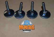 """NEW 2"""" LEG LEVELERS with Nut (SET of 4) Heavy Duty - Pinball & Arcade Cabinets"""