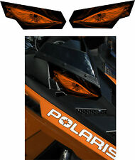 POLARIS RUSH PRO RMK 600 700 800 INDY ASSAULT 155 163 HEADLIGHT  DECAL STICKER a