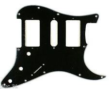 NEW PICKGUARD STRATOCASTER HSH - black - pour Fender, Squier ou strat etc