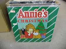 ANNIE Annie's Christmas vinyl LP EX 1982 in shrink