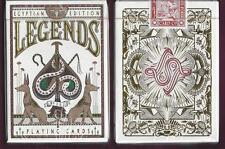 1 DECK Legends Egyptian Edition (red) playing cards