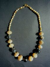 African Horn Beads Necklace Jewellrey Set - Designer Ethical Gift Jewellery