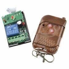DC 6V One Transmitter Receiver Peachwood 1CH Relays Wireless RF Remote Control