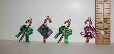 1/6 SCALE FASHION DOLL SIZE MINIATURE CANDY CANES CHRISTMAS TREE ORNAMENT LOT