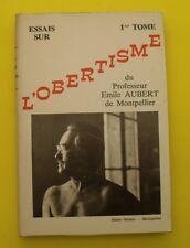 Essai sur L'Obertisme ( Gymnastique et entretien du corps ) Emile AUBERT - 1974