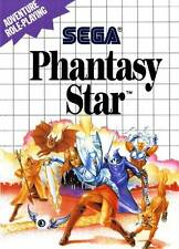 PHANTASY STAR            -----  sur SEGA MASTER SYSTEM  // BE-PN