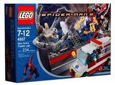 LEGO 4857 - SPIDERMAN - Doc Ock's Fusion Lab - 2004 - w/ BOX