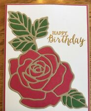 Stampin' Up! ROSE GARDEN Thinlits Dies All Occasion New & Sealed