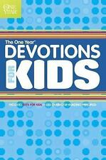 The One Year Devotions for Kids No. 1 by Tyndale House Publishers Staff...