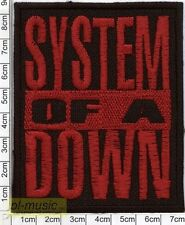 = SYSTEM OF A DOWN - embroidery patch ,aufnäher, naszywka ♫ SOAD