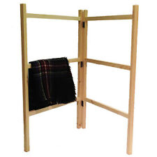 Wooden Clothes Horse Airer Drier Traditional Home Hand Made Laundry