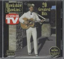 HAWKSHAW HAWKINS 20 Greatest Hits Lonesome 7-7203 Pan American Dog House NEW CD