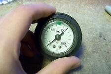 SMC AIR PRESSURE / PNEUMATIC GAUGE 0-150 PSI 2 Inch Gauge