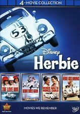Love Bug/Herbie Goes Bananas/Herbie Goes To Monte - Love Bug/Her (2012, DVD New)