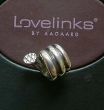Genuine Lovelinks Mens Blog Aagaard silver 925 coiled nail bracelet charm bead