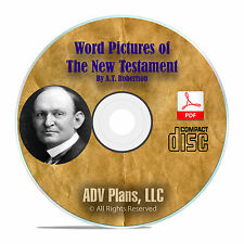 Word Pictures in the New Testament, by A.T. Robertson Scripture Study CD-ROM F37
