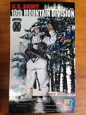 "DRAGON 12"" 1:6 Scale U.S. ARMY 10TH MOUNTAIN DIVISION DESIGNATED MARKSMAN/SNIPER"