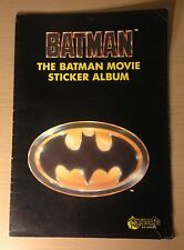 VINTAGE BATMAN Autoadesivo BOOK MERLIN ADESIVI BATMAN MOVIE COLLEZIONISTI ALBUM RARE
