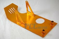 GOLD SKIDPLATE SKID PLATE PIT BIKE XR50 CRF50 SDG 70CC 110CC 125CC BIKE 9 SP07