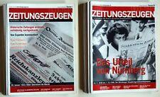 96x Zeitungszeugen KOMPLETT, neuwertiger Zustand (1. Serie)