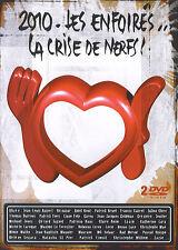 Les Enfoirés 2010 : La crise des nerfs (2 DVD)