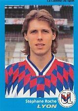N°175 STEPHANE ROCHE LYON LYONNAIS VIGNETTE PANINI FOOTBALL 96 STICKER 1996