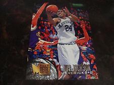 1995-96 Fleer Metal Basketball---Jim Jackson---Jumbo---#1/3---5x7---Mint---XHTF