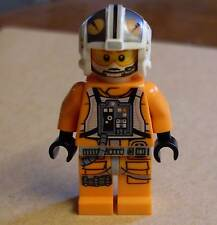 Lego Star Wars X-Wing Pilot ( 75032 Rebellen orange Helm ) Figur Neu