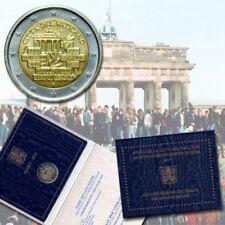 MORUZZI - Vatican François 1er Bergoglio 2 EURO 2014 Chute du mur de Berlin BU