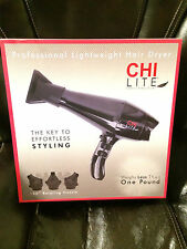 CHI Lite Carbon Fiber Hair Dryer - NEW & AUTHENTIC!