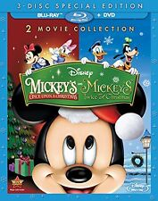 MICKEY'S ONCE UPON A CHRISTMAS / TWICE UPON (Disney BLU RAY) Sealed Region free